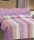 "Goodwill Printed Cotton Double Bedding Set - 98""x88"", Multi-Colour"