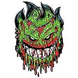 Spitfire Wheels - Psycho Zombie Skateboard Sticker - Monster Horror Scary New