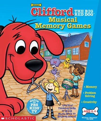 Clifford Musical Memory GamesB000068WXU : image