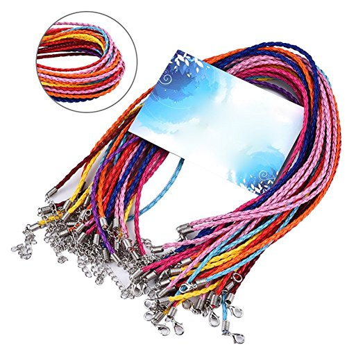 hosaire-set-of-20-multicolor-18-inch-imitation-leather-cord-rope-for-diy-jewelry