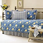 Laura Ashley 5-Piece Emilie Daybed Cover Set