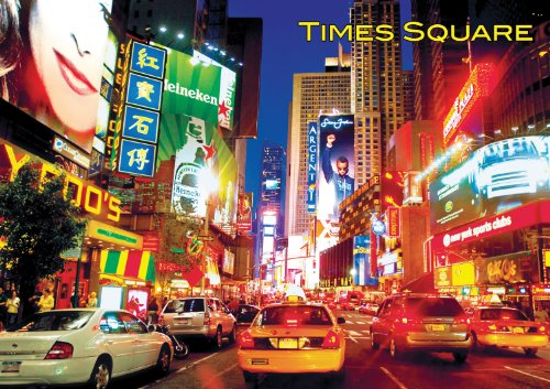 Buffalo Games Large Piece Travel, Times Square - 300pc Jigsaw Puzzle