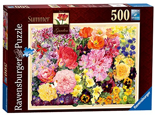 Ravensburger the Cottage Garden, Summer Jigsaw Puzzle (500-piece)