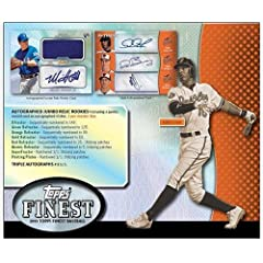 2013 Topps Finest MLB Baseball Trading Cards Hobby Box - 12 packs 5 cards *2 AUTOS... by Finest Baseball MLB