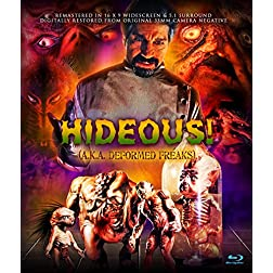 Hideous! AKA Deformed Freaks [Blu-ray]