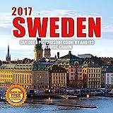 2017 Sweden Calendar- 12 x 12 Wall Calendar- 210 Free Reminder Stickers