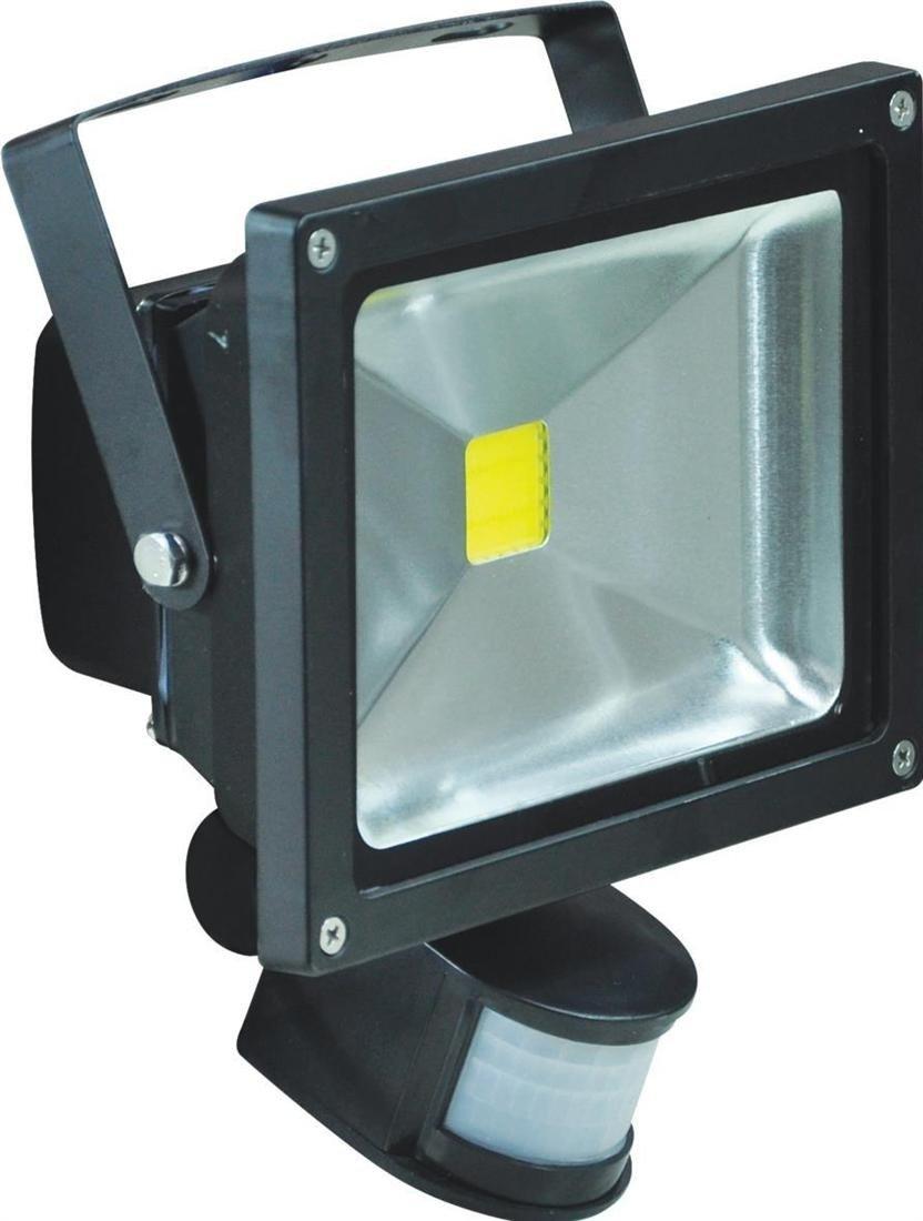 Eagle L320B 20W LED Ip65 Waterproof Flood Light With Pir Blackreviews