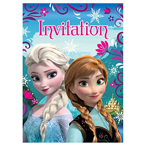 Disney Frozen Invitations, 8ct - 1