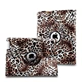 TOPCHANCES Auto Sleep/Wake Function 360 Degree Rotating Smart Case Cover For 9.7 Inch Apple IPad 2/3/4 With A...