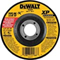 DEWALT DW8806 4-Inch by 1/8-Inch Extended Performance Pipeline Grinding Wheel, 7/8-Inch Arbor
