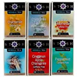 Stash Tea Soothing Herbal Tea Assortment 18 Count Box (Pack of 6)
