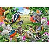 Falcon de Luxe - Birds for All Seasons Jigsaw Puzzle (1000 Pieces)
