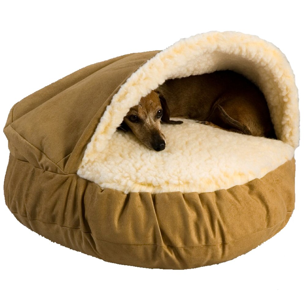 How To Make A Cave Bed For Dogs