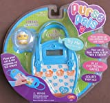 PURSE PALS w SOUNDS, 3D INTERACTIVE Pet CHEEKS the Hamster & PURSE w LCD Screen & INTERACTIVE Pet Ho