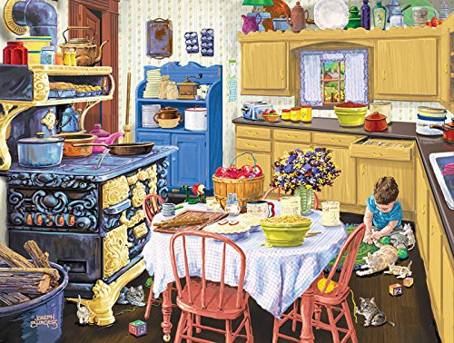 SunsOut Nana's Kitchen Jigsaw Puzzle (500-Piece)