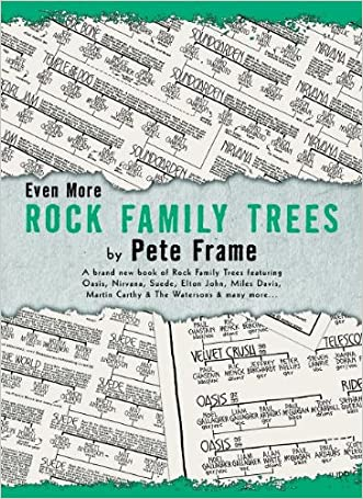 Even More Rock Family Trees written by Pete Frame