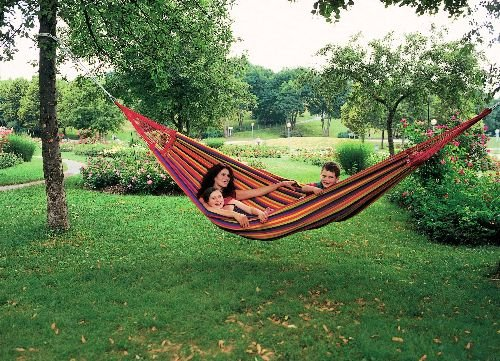Amazonas AZ-1019200 Paradiso tropical Hängematte, Belastbarkeit 200kg, Liegefläsche 250 x 175cm mit seil Smartrope kaufen