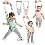 Handheld Baby Walker Kids Toddler Walking Baby Toys Adjusted Baby Learning Walker Harness Keeper Walking Belt Walk Assistant,Great Gift for 7-24 Months Baby (Pink) (Color: Pink)
