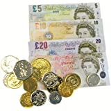 Play Money British Pounds & Coins