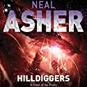 Hilldiggers: A Novel of the Polity (       UNABRIDGED) by Neal Asher Narrated by David Marantz