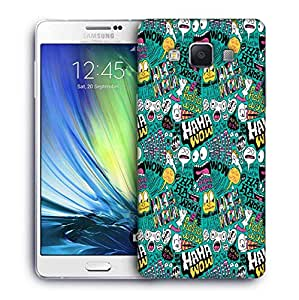 Snoogg We Love Comics Designer Protective Back Case Cover For Samsung Galaxy ON5