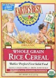 Earths Best - Organic - Rice Cereal - 8 Oz 2 Pack