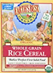 Earths Best - Organic - Rice Cereal -...