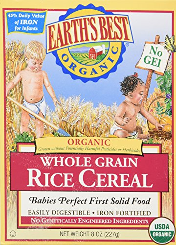 Earths Best - Organic - Rice Cereal - 8 Oz 2 Pack - 1