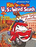 Kids' On-The-Go U.S. Word Search: Puzzles of All 50 States