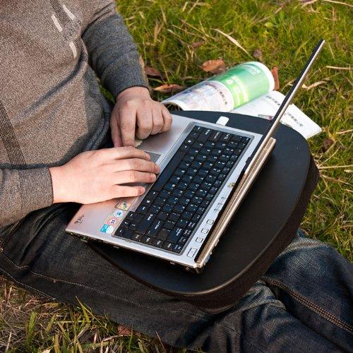 support ergonomique pour ordinateur portable lapdesk for notebooks fbt22 fbt22 sch noir. Black Bedroom Furniture Sets. Home Design Ideas