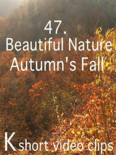 Clip: 47.Beautiful Nature--Autumn's Fall