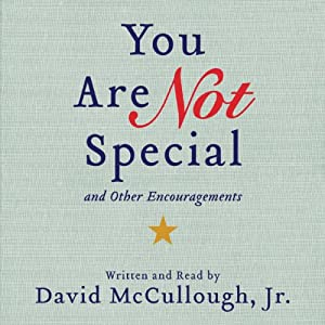 You Are Not Special Audiobook