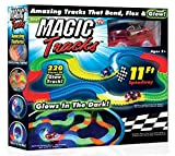 Magic Tracks The Amazing Racetrack that Can Bend, Flex & Glow 11Ft