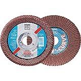 """PFERD 67646 4-1/2""""x7/8"""" POLIFAN Curve Flap Disc SGP-ALU 40 Grt, Large"""