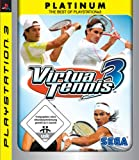 Virtua Tennis 3 Platinum Edition (Sony PS3)