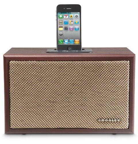 Crosley Cr3011A-Ma Ideco Speaker Dock For Ipod (Mahogany)