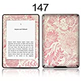 TaylorHe Vinyl Skin Decal for Amazon Kindle Paperwhite Ultra-slim protection for Kindle MADE IN BRITAIN FREE UK DELIVERY Design of Pink Vintage Floral Patterns