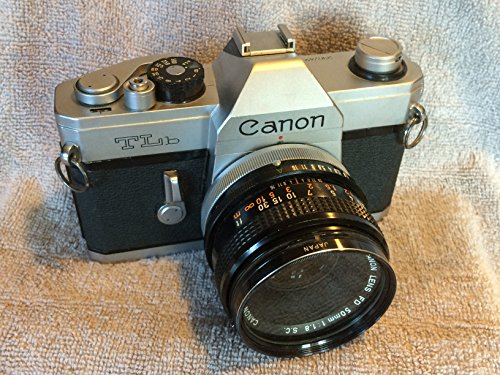 canon tlb 35mm slr manual focus film camera body only