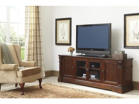 Alymere Rustic Brown Extra Large TV Stand