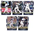 2016 Donruss Baseball Seattle Mariners Team Set of 5 Cards: Robinson Cano(#48), Nelson Cruz(#70), Kyle Seager(#119), Hisashi Iwakuma(#134), Felix Hernandez(#137) in Protective Snap Case