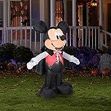 5' Tall Disney Mickey Vampire Halloween Airblown Inflatable