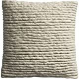 Wool Wrap 16 Inches Pillow With Feather Insert