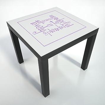 Table basse pellicule pellicule de protection 55x55 for Table basse maison de famille