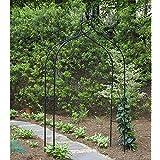 "Gardman R351 Gothic Arch, Black, 55"" Wide x 102"" High"