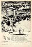 1956 Ad Kiekhaefer Mercury Mark 30 Turbo 4 Outboard Boat Motor Marine Engine - Original Print Ad