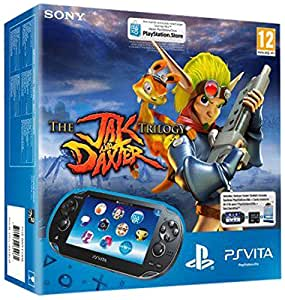 Console Playstation Vita Wifi + Jeu à télécharger Jak and Daxter Trilogy (PS Vita) + Carte Mémoire 8 Go