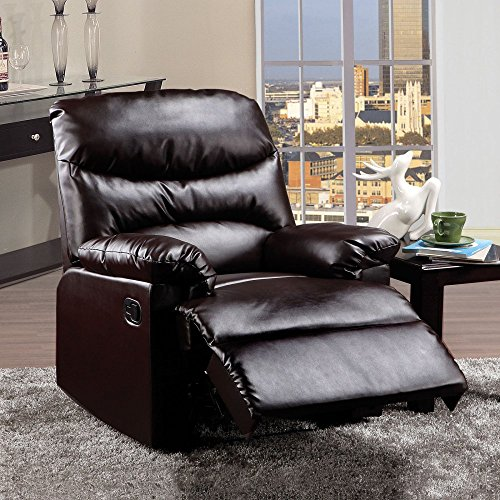 ACME 59010 Arcadia Recliner, Espresso PU (Espresso Leather Recliner compare prices)