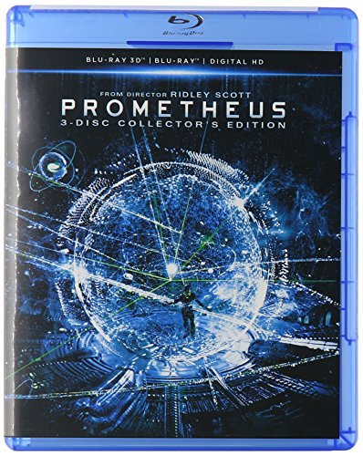 Blu-ray 3D : Prometheus (3 Dimensional, Digitally Mastered in HD, Pan & Scan)