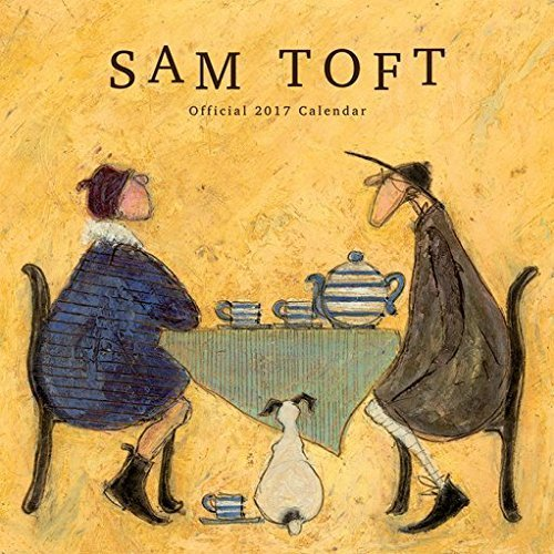 bundle-2-items-sam-toft-2017-official-wall-calendar-closed-size-35-x-35-cm-12-x-12-inches-and-a-set-
