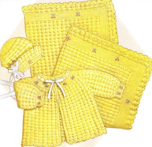 Cowboy Baby Booties Crochet Pattern